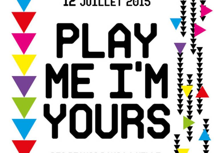 Play Me, I'm Yours #4 à Paris 16ème