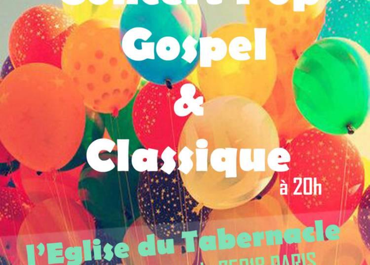 Pop, Gospel et Classique à l'Eglise du Tabernacle à Paris 18ème