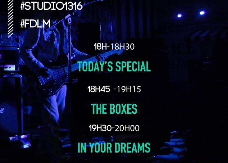 Today's Special, The Boxes, In Your Dreams Et Les Gordons à Paris 4ème