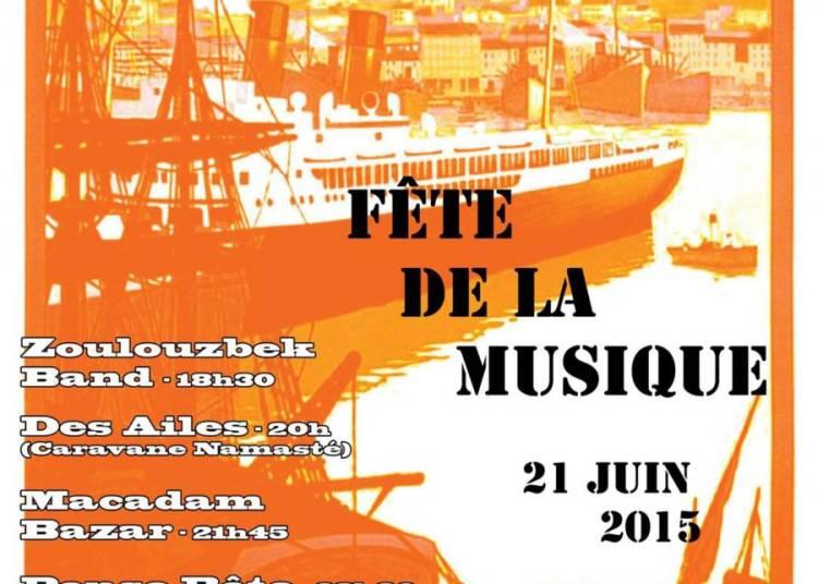 Zoulouzbek Band, Des Ailes, Macadam Bazar et Pense-bete à Marseille