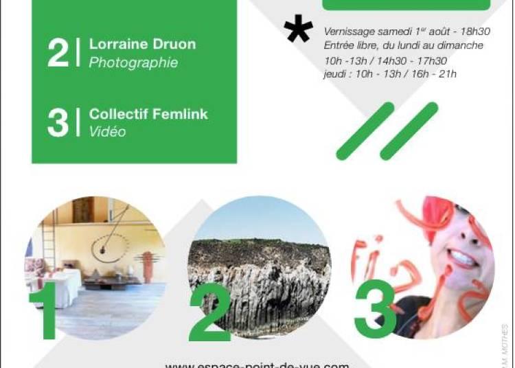 Exposition Catherine Willis, Lorraine Druon et Collectif Femlink � Lauzerte