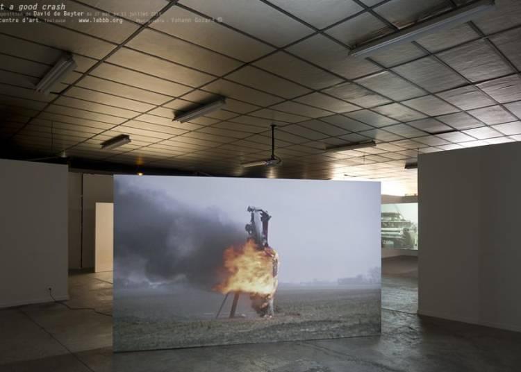 Exposition Just a Good Crash, David De Beyter � Toulouse