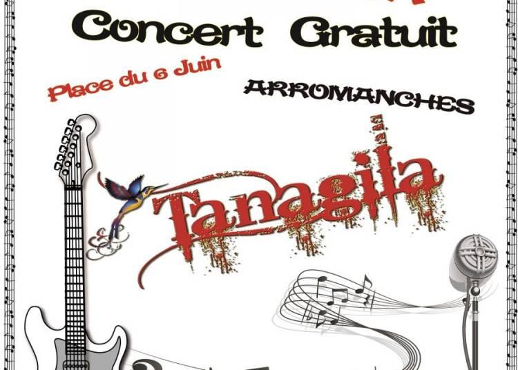 Les Lundis d'Arromanches avec Tanagila � Arromanches les Bains