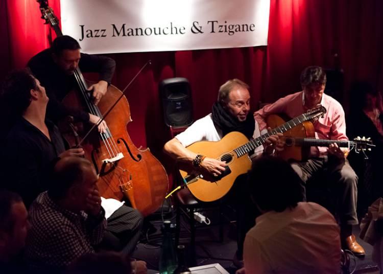 Les Fr�res Ferre Trio � Paris 11�me