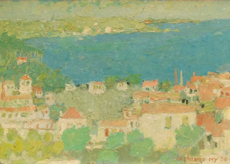Exposition d'�t�: Fusaro, Hilaire, Buffet, Chabaud, Brayer � Lyon