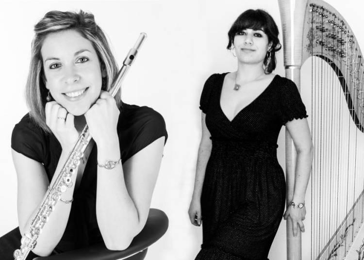 Concert fl�te et harpe, Charmes et enchantements � Le Croisic