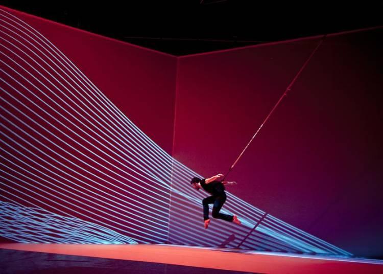 Le mouvement de l'air, Claire Bardainne & Adrien Mondot, Cie  Adrien M/Claire B � Rennes