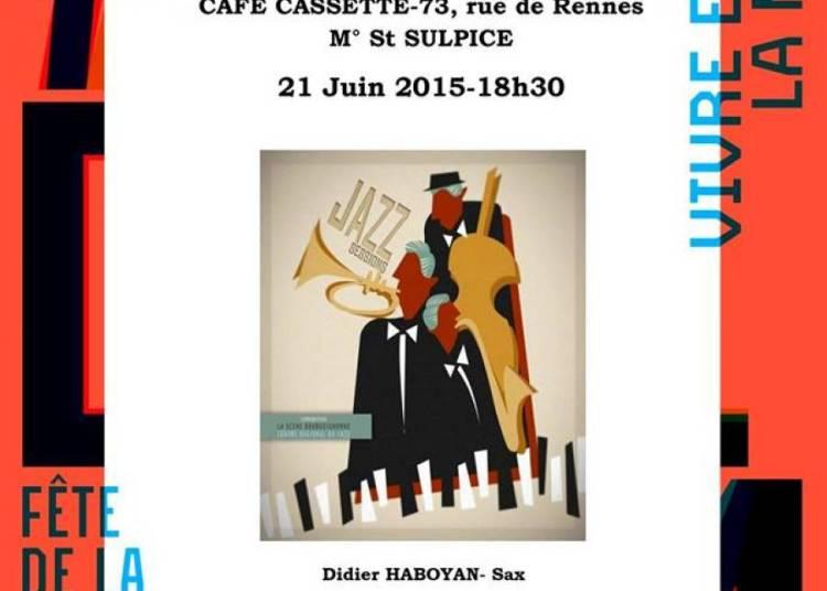 Nicolas Decker Quintet à Paris 6ème