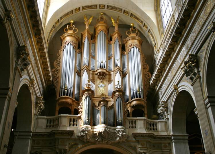 Audition d'orgue à Paris 4ème