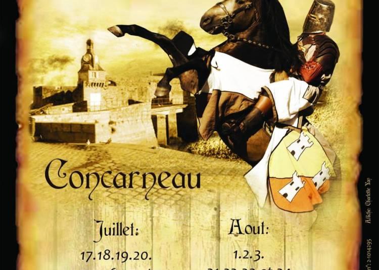 Spectacle �questre Tournoi de Chevalerie � Concarneau