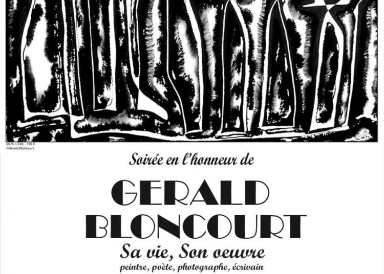 Soir�e en l'honneur de G�rald Bloncourt : peintre, po�te, photographe de presse, �crivain ha�tien � Paris 11�me