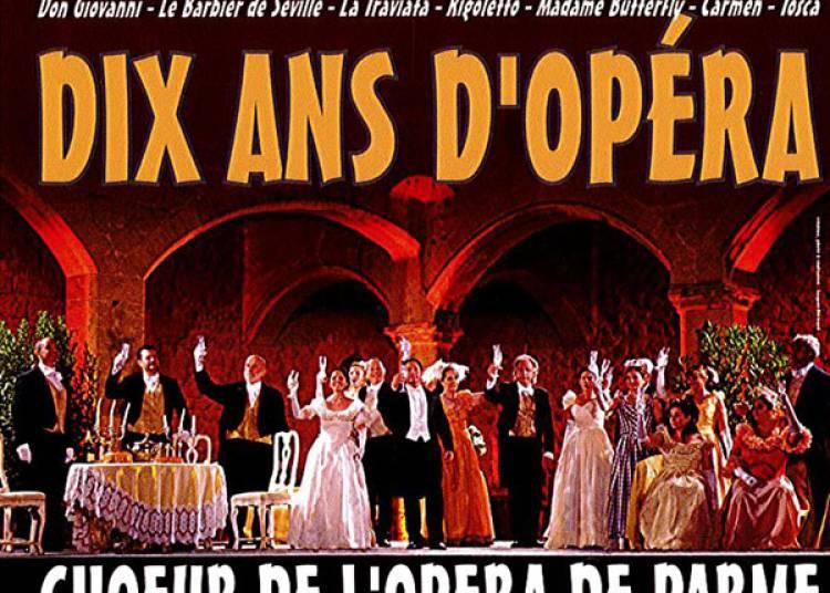 Dix ans d'op�ra � Salon de Provence