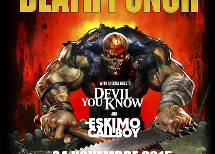 Five Finger Death Punch � Paris 9�me