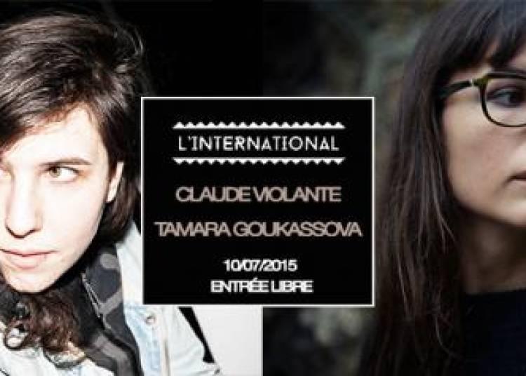 Avant Garde #2, Claude Violante et Tamara Goukassova � Paris 11�me