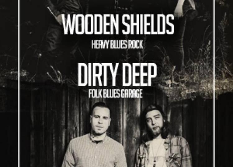 Dirty Deep et Wooden Shields � Paris 11�me