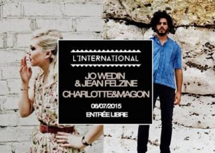 Jo Wedin et Jean Felzine, Charlotte et Magon � Paris 11�me