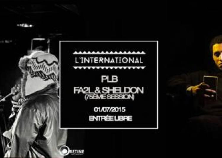 Plb, Fa2l, Sheldon et  Dj Set Mutant Ninja � Paris 11�me