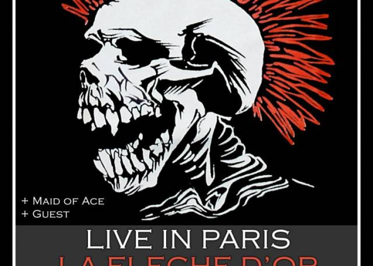 The Exploited + Maid Of Ace � Paris 20�me