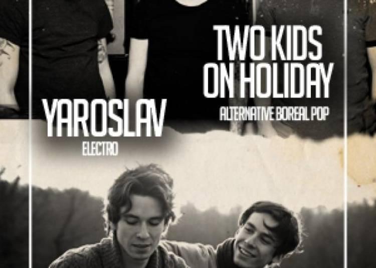 Two Kids On Holyday et Yaroslav � Paris 11�me