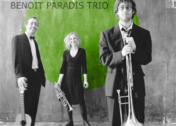 Benoît Paradis Trio à Avignon