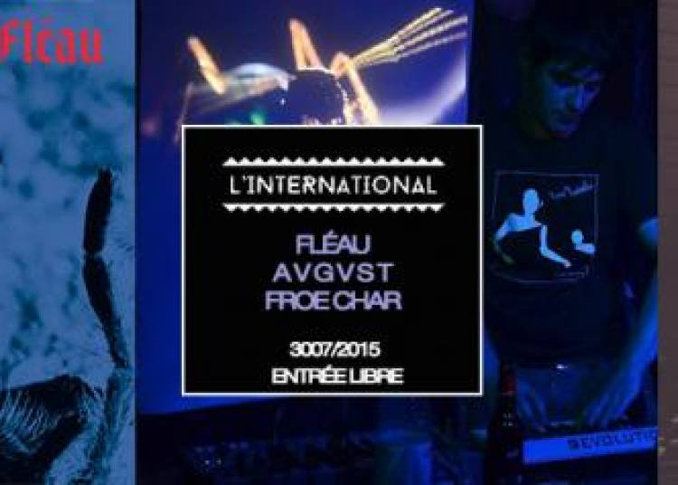 Anywave Record Party, Fl�au, A V G V S T et Froe Char et Dj Set By Anywave Record � Paris 11�me