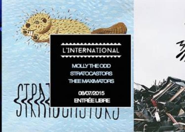 Black Totem Pr�sente, Thee Maximators, Molly The Odd, Stratocastors et Dj Dave Rockin � Paris � Paris 11�me