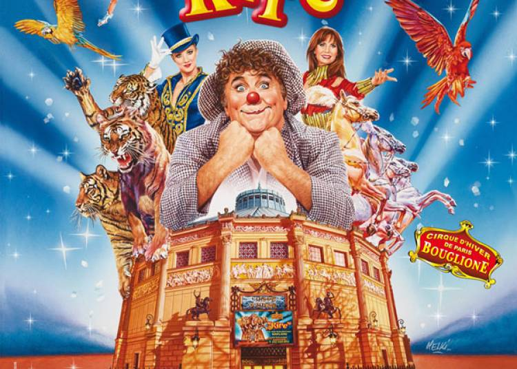 Cirque D'hiver Bouglione � Paris 11�me