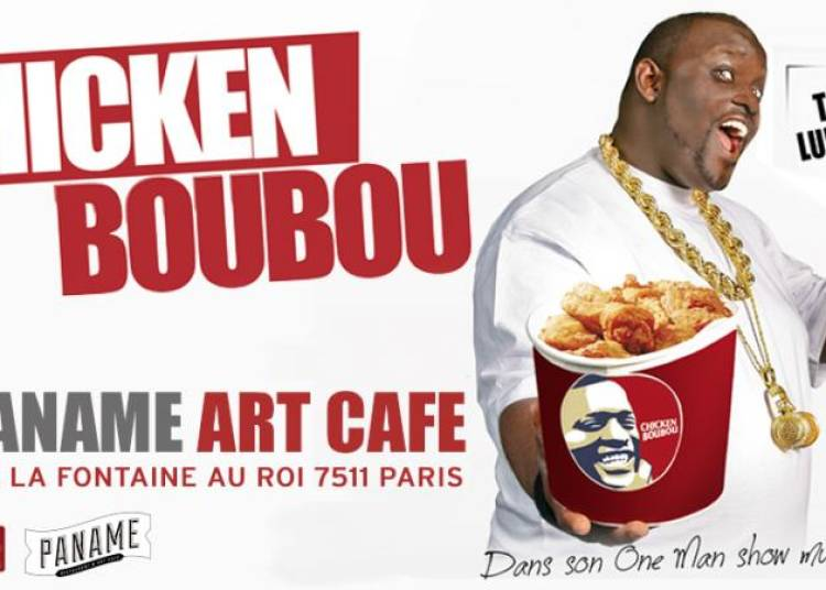 Chicken Boubou dans son hip hop comedy show � Paris 11�me