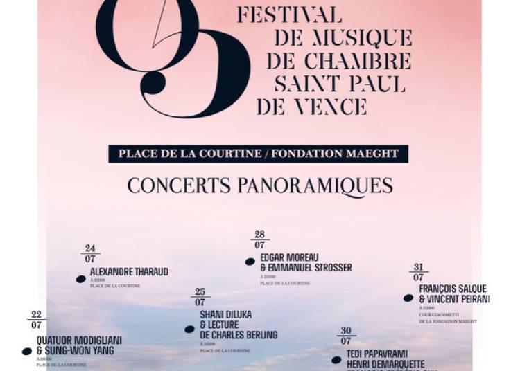 Festival de Musique de Chambre de Saint-Paul de Vence 2015