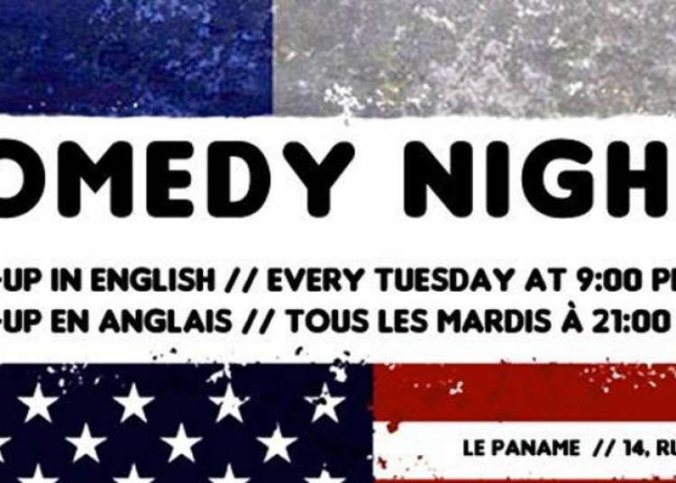 French fried comedy night � Paris 11�me