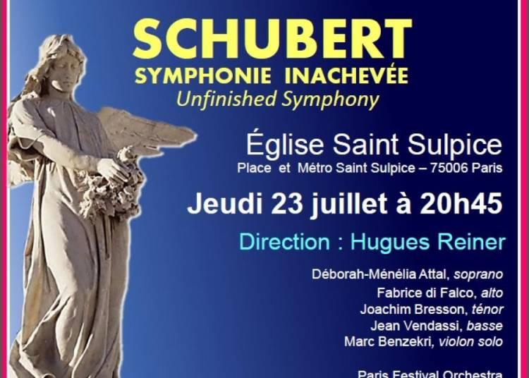 Requiem de Mozart et Symphonie Inachev�e de Schubert � Paris 6�me