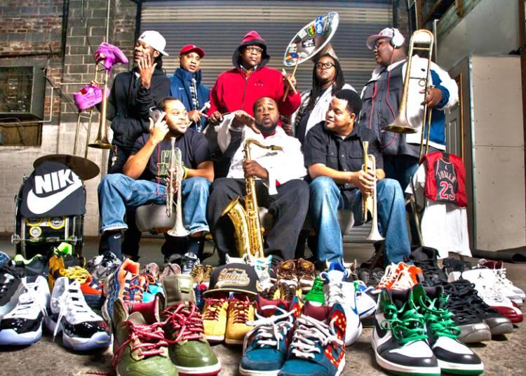 Soul rebels brass band � Paris 10�me