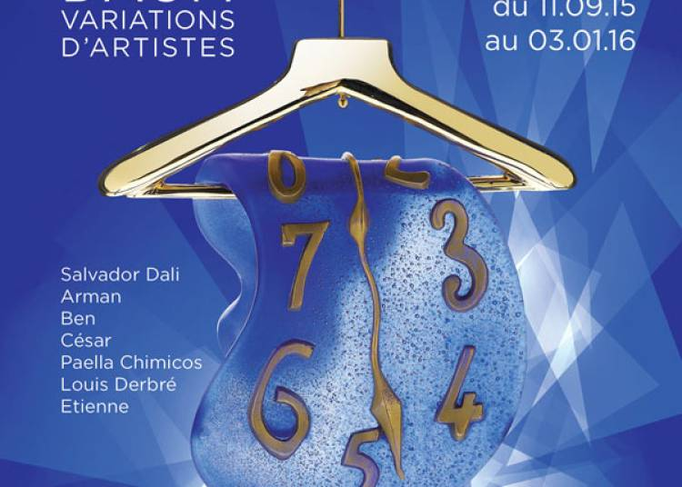 Exposition Daum, Variations D'artistes � Paris 18�me