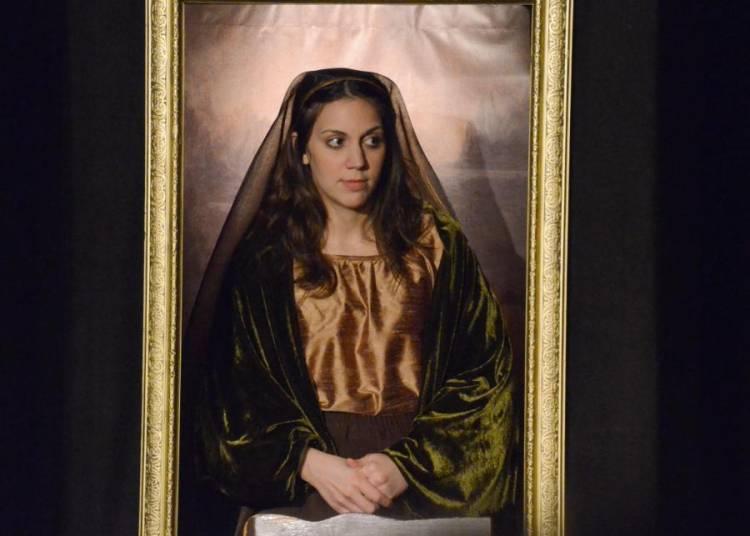 LISA, Il a volé la Joconde et elle a deux mots à dire à ce sujet... à Avignon