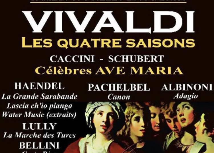 Concerts Sveto, Vivaldi, Les 4 Saisons + Ave Maria C�l�bres + 6 Compositeurs � Paris 8�me