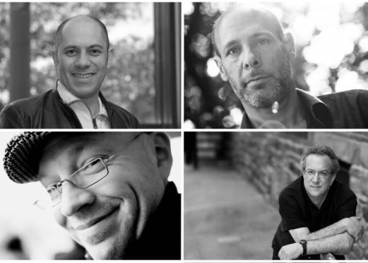 Alain Vankenhove, Uri Caine, Jeff Ballard et S�bastien Boisseau � Paris 1er