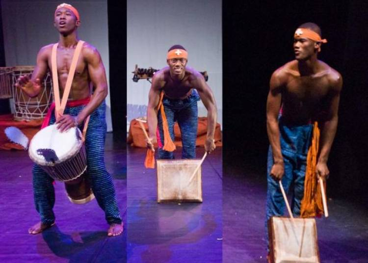Les percussions de Guin�e sont � l'honneur � Le Blanc Mesnil