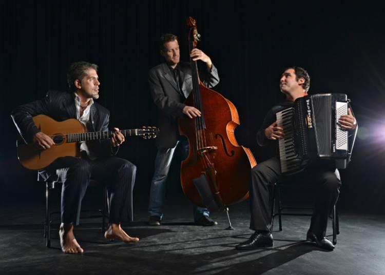 Marian Badoi trio - tzigane/manouche � Rennes