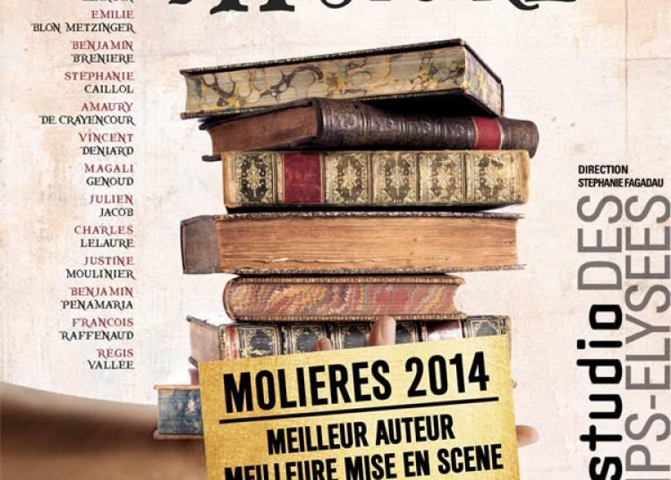 Le Porteur D'histoire � Paris 8�me