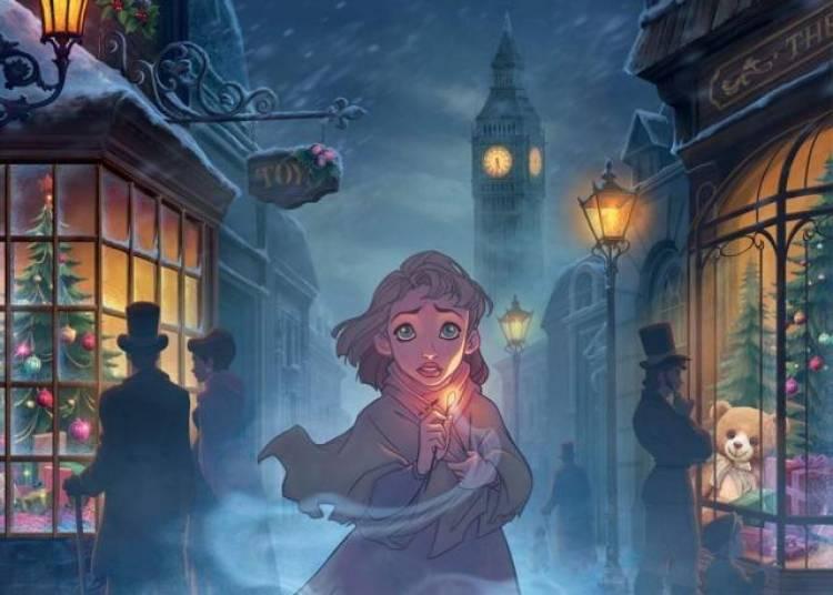 La petite fille aux allumettes � Paris 10�me