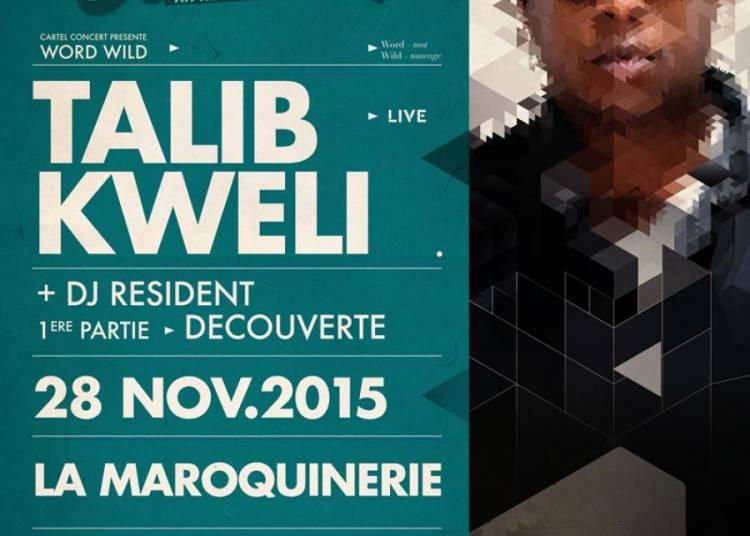 Talib Kweli et Guests � Paris 20�me