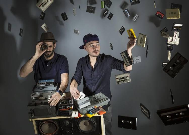 Scratch Bandits Crew, Kacem Wapalek et Djafar � Rambouillet