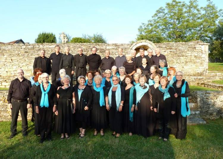 Concert d' �t� de l' Ensemble Vocal de Terrasson � La Cassagne