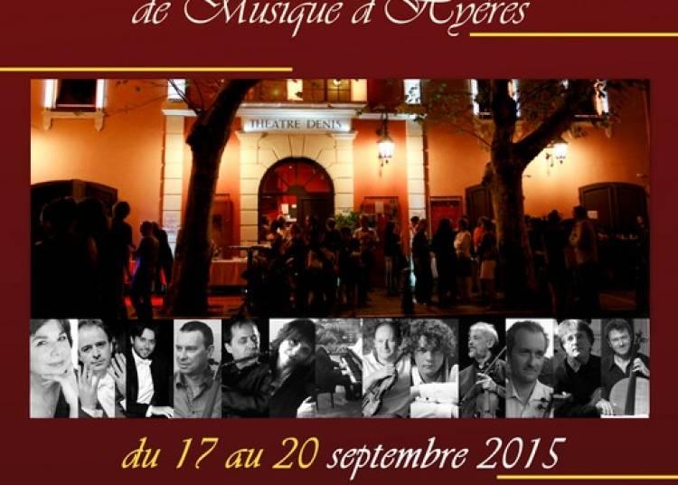Festival international de musique d'Hy�res 2015