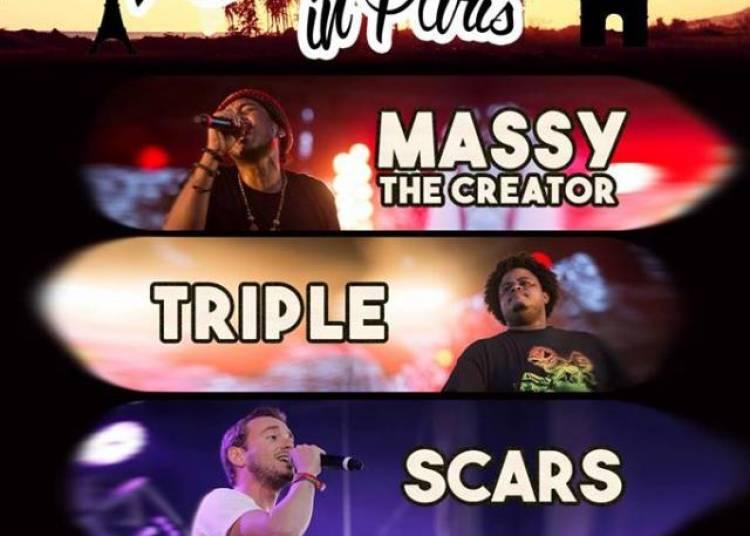 Jamaicans In Paris: Massy The Creator, Triple et Scars � Paris 12�me