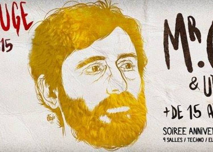 Birthday villa rouge - Mr Oizo � Montpellier