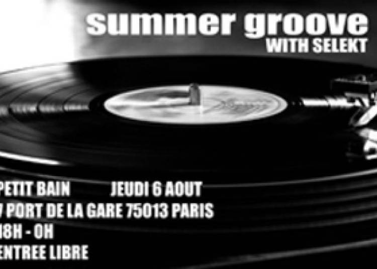 Summer Groove � Paris 13�me