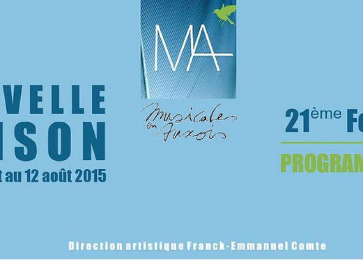 Festival Musicales en Auxois 2015