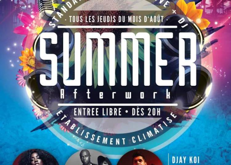 Summer Afterwork ! � Paris 10�me