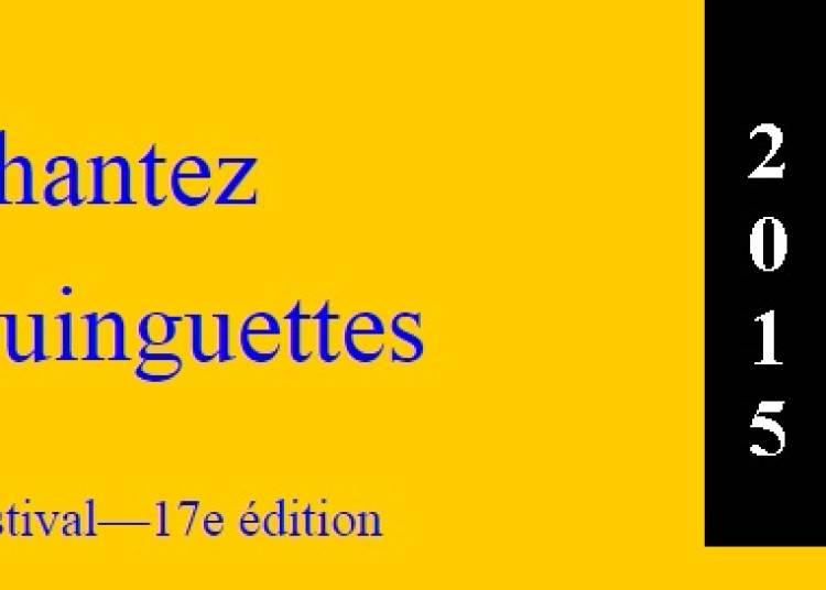Festival Chantez guinguettes 2015